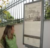 La prof.ssa Ada Musci spiega a Villa Spada la difesa dei bersaglieri lombardi e la morte di Manara