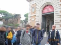 Intanto Massimo Capoccetti con la 1°H arriva a Porta San Pancrazio