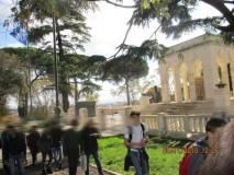 Tutti al Mausoleo Ossario AI CADUTI PER ROMA (1848-1870) prima di arrivare al parco gianicolense