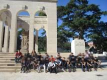 Foto di gruppo per la classe 1° I del liceo Morgagni