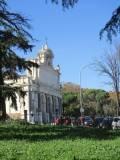 Il Fontanone visto dal Mausoleo