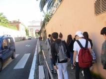 In cammino verso Porta San Pancrazio