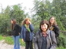 Da sinistra le proff. Adriana Di Palma. Noemi Grimaldi, Francesca Assennato e Laura Tanchis