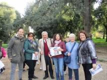 Assistenti e proff: da sinistra, Stefano Raimondi, Maria Toscano, Enrico Luciani, Rossella Comito, Ivana Colletta, Letizia Torelli