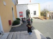 Dalla Chiesa di San Pietro in Montorio il Tempietto del Bramante è proprio vicino