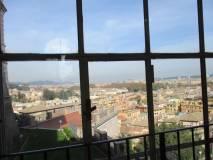 Ma ci fanno entrare nella Reale Accademia di Spagna… che vista su Roma