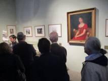 """Nella sala di Paolina Bonaparte, la """"fedelissima"""" di Napoleone, il suo quadro e il calco del volto dalla statua di Canova"""