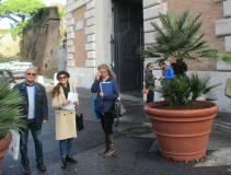 La prof.ssa Daniela Di Paolo incontra subito Massimo Capoccetti e Noemi Grimaldi