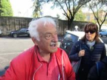 """L'incontro con Domenico Memmo, la """"sentinella"""" del Gianicolo, tra lo stupore della prof.ssa Elisabetta Puce"""