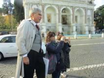 Enrico Luciani spiega il Fontanone