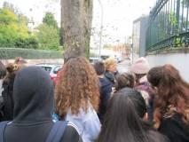 La prof.ssa Mariella Valiani spiega i combattimenti a Villa Spada