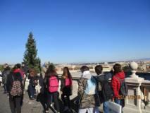 La vista di Roma è stupenda…