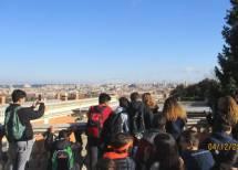 Il panorama su Roma è proprio bello dal Fontanone