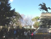 Tutti al monumento/tomba di Anita Garibaldi
