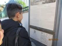 Si legge il pannello collocato a Villa Spada