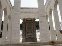 Il Mausoleo è aperto ma la cripta dove riposano i Caduti 1849-1870 è ancora chiusa per restauro