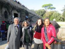 Foto ricordo: Enrico Luciani, Elena Angelini, Isabella Ghedini Ferri, cui si aggiunge Debora Lanini