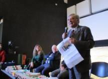 L'intervento di Enrico Luciani, presidente dell'Associazione che ha promosso la manifestazione ricordo