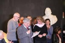 Luciani tra Claudio Bove, Massimo Capoccetti, Noemi Grimaldi e Mariapaola Pietracci Mirabelli ; dietro di loro Dario Luciani