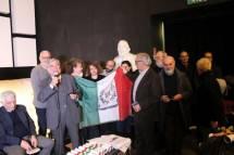 Tutti insieme con ENRICO: Claudio Bove, al centro Daniela Donghia con Roberto, Mariapaola e Noemi, e sulla destra dietro Cerulli anche Mario Savelli , Antonio Cardellini e il prof. Antonio Bultrini