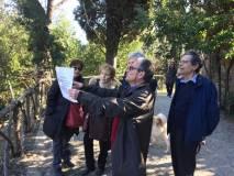 """Massimo Capoccetti sul settimo bastione spiega l'attacco """"a tenaglia"""" dei francesi"""