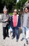 Enrico Luciani e Massimo Capoccetti con Mario Testa, alla prima lezione da accompagnatore