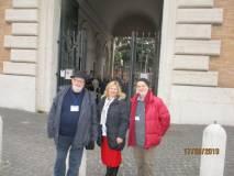 Intanto al Museo son pronti i nostri Antonio Cardellini e Mario Savelli ; con loro Elena Ivanovici