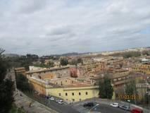 Il panorama di Roma visto da san Pietro in Montorio