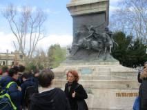Si visita il monumento/tomba di ANITA