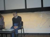 Agostino Bistarelli svolge la sua relazione sulla società romana del 1849