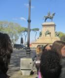 Il monumento a Giuseppe Garibaldi