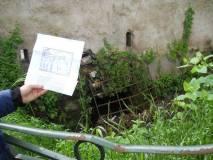 E' proprio la griglia dalla quale passarono i francesi per entrare a Villa Pamphili