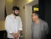 Marco Valerio Solia con Agostino Bistarelli
