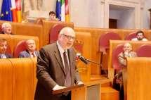 Mario Di Napoli conclude; rivolge grandi riconoscimenti a Enrico Luciani e all'associazione Cipriani-GRAZIE
