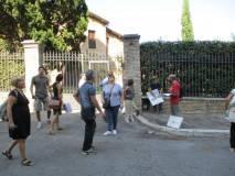 Si arriva all'ottavo bastione e Capoccetti ricorda il combattimento mortale di Emilio Morosini