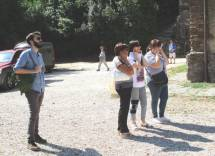 Si spara ! Preoccupate le insegnanti A. Maria Lipàni, Francesca Frasca e la nostra Giovanna De Luca…, imperturbabile Giovanni Sabatini