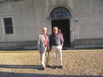 Giorgio Martellucci ed Enrico Luciani si salutano… provati, ma soddisfatti. A presto rivederci
