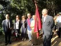 La delegazione di Massa Marittima e di Livorno