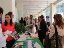 Si valutano i singoli progetti; questo lo stand dell'Istituto di Studi Federalisti Altiero Spinelli