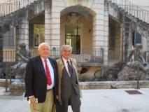Vittorio Emiliani ed Enrico Luciani