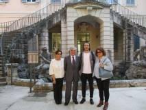 Enrico Luciani, Giovanna De Luca, Giuseppe Testa, Daniela Donghia