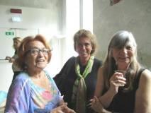 Luciani presenta alla prof. Cristina Giorcelli la nostra Noemi Grimaldi e la sua amica americana