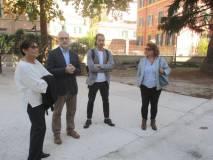 In visita con Claudio Noviello, Luciani con i nostri (in foto) De Luca, Testa e Donghia