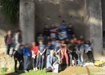 Foto ricordo della classe III P all'ottavo bastione