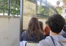 I ragazzi a Villa Spada: Alice legge la difesa dei bersaglieri lombardi e la morte di Manara
