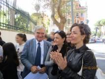 I ragazzi a Villa Spada ricevono il plauso della prof. Luciana Palomba