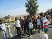 La vista di Roma dal panorama del Fontanone