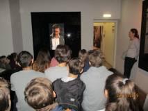 Entrati al Museo della Repubblica romana , subito nella sala di Ciceruacchio