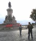 Il monumento in restauro