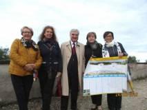 In foto, da sinistra: Ines Pietracci, Noemi Grimaldi, Enrico Luciani, Giovanna De Luca, Anna M. Cerioni